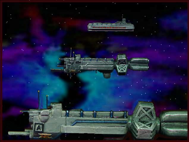 Jpeg picture of Babylon 5 miniatures.