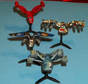 Space Ship Miniatures List Part 1