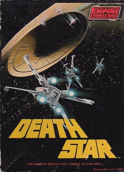 A game of the rebel attack on the Death Star from Star Wars: